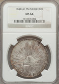 Mexico, Mexico: Republic 8 Reales 1844 Go-PM,...