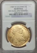 Colombia, Colombia: Charles III gold 8 Escudos 1788 NR-JJ,...