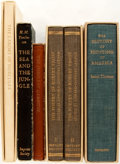Books:Fine Press & Book Arts, [Imprint Society]. Lot of Five Titles. [Barre: Imprint Society,various dates]. Including: The Labors of Hercules, The Sea...(Total: 6 Items)