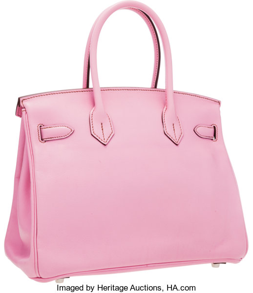 6fdb1cdaef Hermes 30cm Bubblegum Pink 5P Swift Leather Birkin Bag