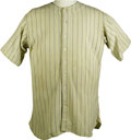 Baseball Collectibles:Uniforms, 1933 Babe Ruth Game Worn New York Yankees Jersey, Worn in FirstAll-Star Game. As World War II ground toward its brutal, bl...