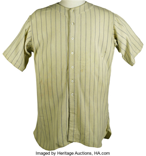 5c5fe48e ... Baseball Collectibles:Uniforms, 1933 Babe Ruth Game Worn New York  Yankees Jersey, Worn ...