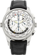 Timepieces:Wristwatch, Girard Perregaux Ref. 49805 WW.TC Financial Limited Edition WorldTime Chronograph. ...