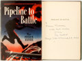 Books:World History, Major Peter W. Rainier. INSCRIBED. Pipeline to Battle. An Engineer's Adventures With the British Eighth Army. Ne...