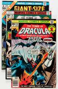 Bronze Age (1970-1979):Horror, Tomb of Dracula Related Group (Marvel, 1973-79) Condition: AverageVG.... (Total: 41 Comic Books)