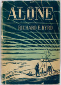 Books:Americana & American History, Richard E. Byrd. SIGNED. Alone. New York: G. P. Putnam'sSons, 1938. First edition. Signed by Byrd on the half-tit...