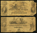 Obsoletes By State:Ohio, Ashtabula, OH- The State Bank of Ohio, Farmers' Branch Counterfeit$1; $10 Faded C26; G56 Wolka 0090-03; -33. ... (Total: 2 notes)