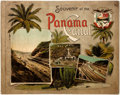 Books:Photography, [Photography]. Souvenir of the Panama Canal. Panama: Maduro, [n.d., ca. 1914]. Oblong octavo. With many pages of bla...
