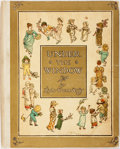 Books:Children's Books, Kate Greenaway. Under the Window. London: Warne, [n.d., ca.1900]. Warne's re-issue. Small quarto. Publisher's b...