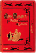 "Books:Color-Plate Books, [John Leech, illustrator]. R. S. Surtees. ""Ask Mamma;"" or, the Richest Commoner in England. London: Bradbury, Agnew,..."