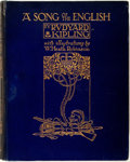 Books:Children's Books, Rudyard Kipling. A Song of the English. With illustrationsby William Heath Robinson. London: Hodder & Stoughton, [n...