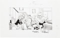 """Original Comic Art:Illustrations, Tom Richmond MAD #483 """"When Other Advertising Characters Get TV Shows"""" Illustration Original Art (EC/Warner Brothe..."""