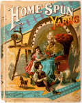Books:Children's Books, Mary Abbot Rand. Home Spun Yarns. New York/Chicago: Belford,Clarke, 1884. First edition. Publisher's pictorial boar...