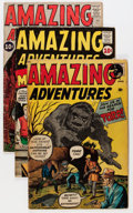 Silver Age (1956-1969):Science Fiction, Amazing Adventures #1-4 and 6 Group (Marvel, 1961).... (Total: 6 Comic Books)