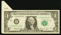 Error Notes:Attached Tabs, Fr. 1908-E $1 1974 Federal Reserve Note. Very Fine-Extremely Fine.....