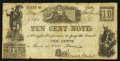 Obsoletes By State:Ohio, Bedford, OH- Comstock & Benedict 10¢ May 1, 1860 Wolka 0132-02. ...