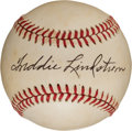 Autographs:Baseballs, 1970's Freddie Lindstrom Single Signed Baseball. ...