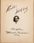 Books:Americana & American History, [Negro Stereotype Images]. [Edward W. Kemble]. Kemble's SketchBook. New York: Russell, 1899. Collected sketches fro...