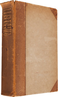 Theodore Roosevelt. Outdoor Pastimes of an American Hunter. Illustrated. New York: Charles Scri