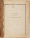 Books:Americana & American History, [Harriet Beecher Stowe]. Pictures and Stories from Uncle Tom'sCabin. Boston: Jewett, 1853. Illustrated. First editi...