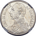 Danish West Indies: Christian IX Franc (20 Cents) 1905 (h) GJ-P