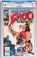 Modern Age (1980-Present):Humor, Groo the Wanderer #64 (Marvel, 1990) CGC NM/MT 9.8 White pages....