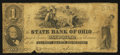 Obsoletes By State:Ohio, Bridgeport, OH- The State Bank of Ohio, Belmont Branch $1 Dec. 6,1856(?) Wolka Unlisted. ...