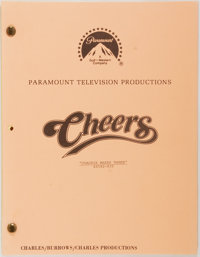 [Production Script]. Cheers. Shooting script for second season episode, Coachi