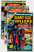 Bronze Age (1970-1979):Horror, Tomb of Dracula Group (Marvel, 1973-79) Condition: Average VG....(Total: 46 Comic Books)