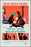 "Movie Posters:Academy Award Winners, In the Heat of the Night (United Artists, 1967). One Sheet (27"" X41""), Uncut Pressbook (12 Pages, 13.25"" X 18""), Trimmed Lo...(Total: 11 Items)"