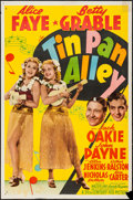 "Movie Posters:Musical, Tin Pan Alley (20th Century Fox, 1940). One Sheet (27"" X 41"") Style A. Musical.. ..."