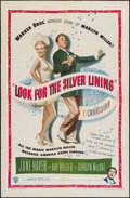 """Movie Posters:Musical, Look for the Silver Lining (Warner Brothers, 1949). One Sheet (27""""X 41""""). Musical.. ..."""