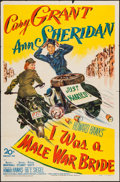"Movie Posters:Comedy, I Was a Male War Bride (20th Century Fox, 1949). One Sheet (27"" X 41""). Comedy.. ..."