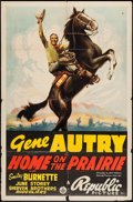 """Movie Posters:Western, Home on the Prairie (Republic, 1939). One Sheet (27"""" X 41"""").Western.. ..."""
