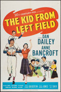 "Movie Posters:Sports, The Kid from Left Field (20th Century Fox, 1953). One Sheet (27"" X 41""). Sports.. ..."