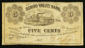 Obsoletes By State:Ohio, Circleville, OH- D.B. Wagner at the Scioto Valley Bank 5¢ Jan. 15,1863 Wolka 0688-01. ...