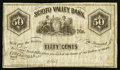 Obsoletes By State:Ohio, Circleville, OH- Unknown Issuer at the Scioto Valley Bank 50¢Remainder Wolka 0686-04. ...