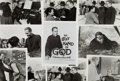 "Movie/TV Memorabilia:Photos, A Collection of Black and White Stills from ""The Left Hand ofGod.""... (Total: 75 Items)"