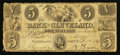 Obsoletes By State:Ohio, Cleveland, OH- The Bank of Cleveland $5 Dec. 1, 1834 G16 Wolka0698-10. ...