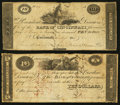 Obsoletes By State:Ohio, Cincinnati, OH- The Bank of Cincinnati $10 (2) 1814-18 G24; UNLWolka 0375-031; -032. ... (Total: 2 notes)