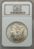 Morgan Dollars: , 1898-S $1 MS64 NGC. NGC Census: (610/117). PCGS Population(1149/485). Mintage: 4,102,000. Numismedia Wsl. Price for proble...