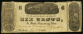 Obsoletes By State:Ohio, Cleveland, OH- The Cleveland Stationary (sic) Store / D.B. Chase 6¢Mar. 12, 1839 Wolka 0719.5-01. ...