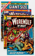 Bronze Age (1970-1979):Horror, Werewolf by Night Group (Marvel, 1973-76) Condition: Average VF....(Total: 18 Comic Books)