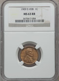 1909-S VDB 1C MS63 Red and Brown NGC....(PCGS# 2427)