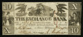 Obsoletes By State:Ohio, Cleveland, OH- T.P. May-Agent for the Exchange Bank at Shiawassee(MI) $10 Feb. 1, 1838 G30 Wolka 0754-06. ...