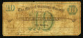 Obsoletes By State:Ohio, Cleveland, OH- The Mutual Savings Society of Cleveland $10 Apr. 15,1874 Wolka Unlisted. ...