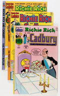 Bronze Age (1970-1979):Cartoon Character, Richie Rich and Cadbury #1-23 Near Complete Run File Copy Group(Harvey, 1977-82) Condition: Average NM-.... (Total: 57 ComicBooks)