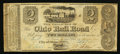 Obsoletes By State:Ohio, City of Ohio, OH- The Ohio Rail Road, Payable at Cleveland $2 Sep.3, 1840 Wolka Unlisted. ...