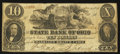 Obsoletes By State:Ohio, Cadiz, OH- The State Bank of Ohio, Harrison Branch Counterfeit $10Dec. 4, 1856 C-180 Wolka 252-34. ...