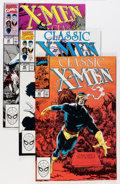 Modern Age (1980-Present):Superhero, Classic X-Men #1-63 Complete Run Group (Marvel, 1986-92) Condition:NM-.... (Total: 4 Box Lots)